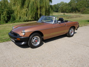 1981 (W) MGB LE Special Edition Roadster