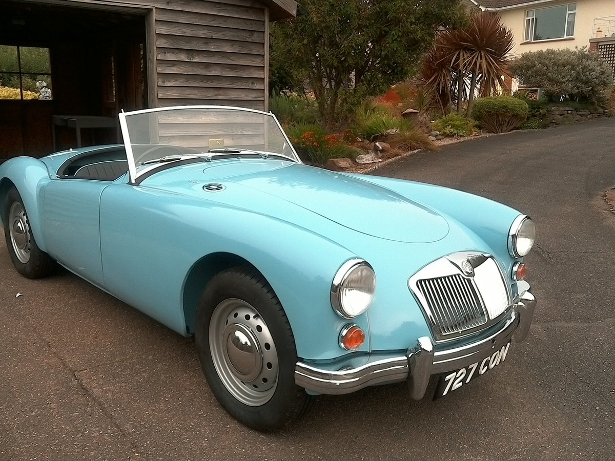 1961 MGA original uk RHD SOLD (picture 1 of 6)