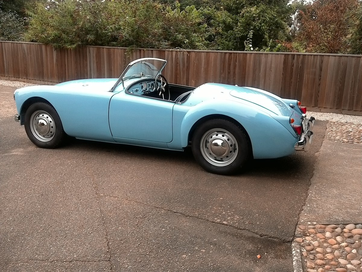 1961 MGA original uk RHD SOLD (picture 6 of 6)