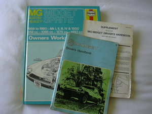 MG Midget Owners manual handbook MkIII - GAN6