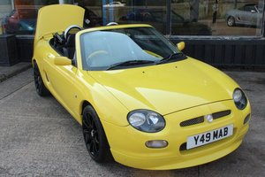 Picture of 2001 MGF TROPHY 160,FSH, HARDTOP,NEW HEADGASKET