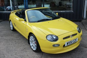 Picture of 2001 MGF TROPHY 160,1 OF 10 IN STOCK,NEW HEADGASKET For Sale