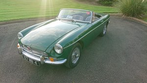 1967 MG b roadster overdrive