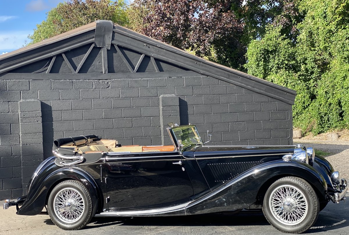 1938 MG SA Tickford Drop Head Coupe For Sale (picture 5 of 20)
