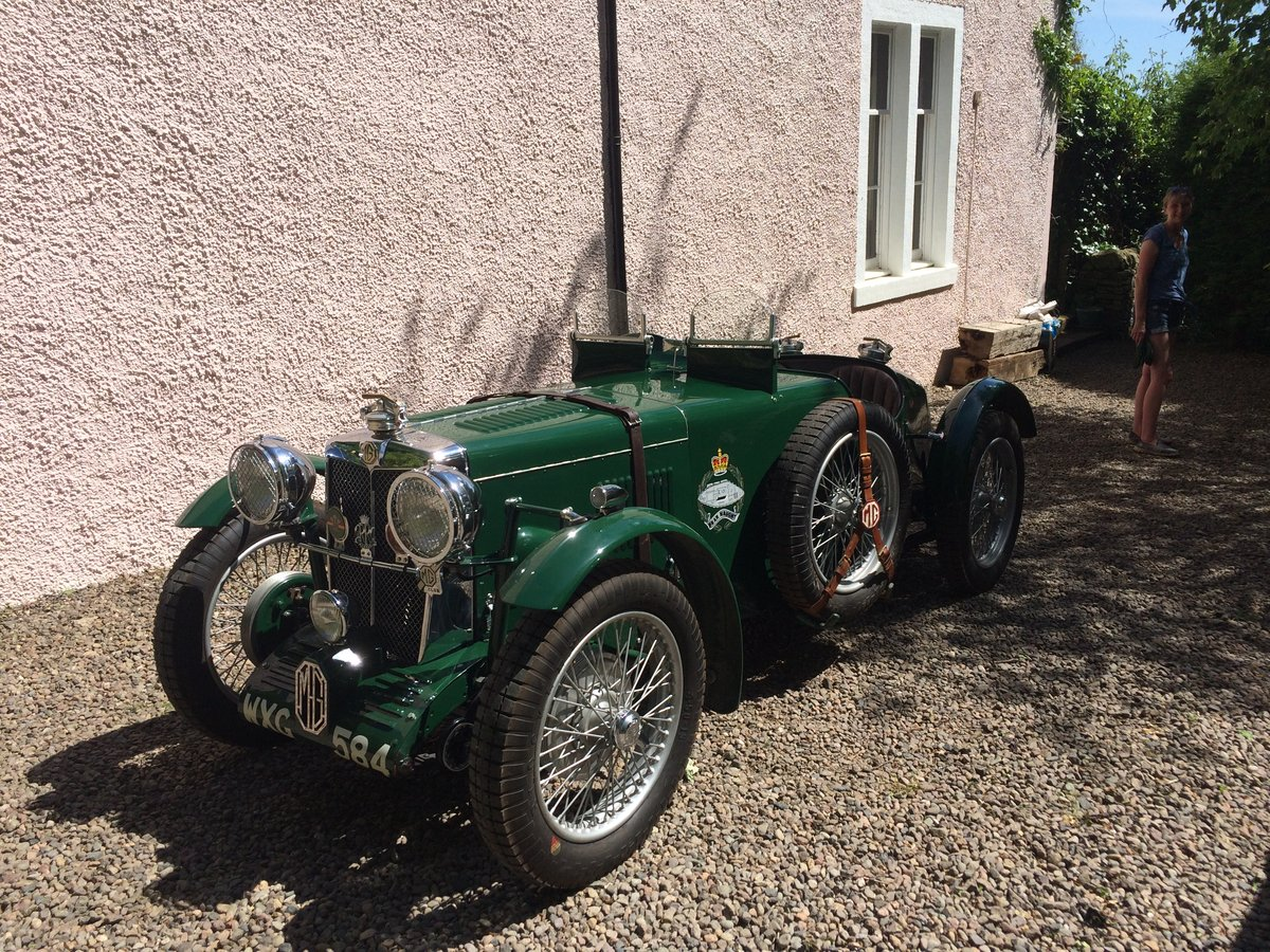 1937 MG TA Supercharged 2 seat Roadster For Sale (picture 1 of 6)