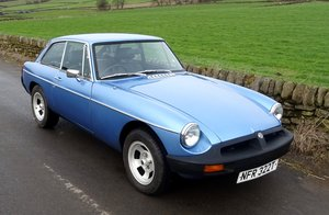 Picture of 1978 LOVELY MGB GT, FINISHED IN MID BLUE WITH PERIOD WHEELS For Sale