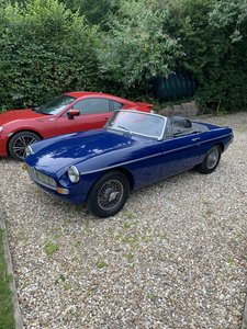 1969 Beautiful MGB roadster, Oselli engine For Sale