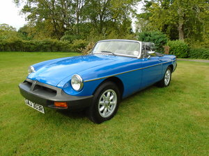 Picture of 1977 MGB Roadster with Overdrive SOLD