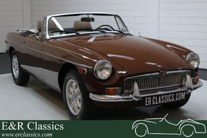 MG B Cabriolet 1980 Chrome bumpers