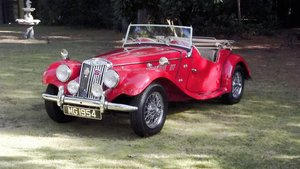 Picture of 1954 MGTF SPORTS CONVERTIBLE SOLD