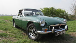 1976 MGB V8 Roadster older restoration