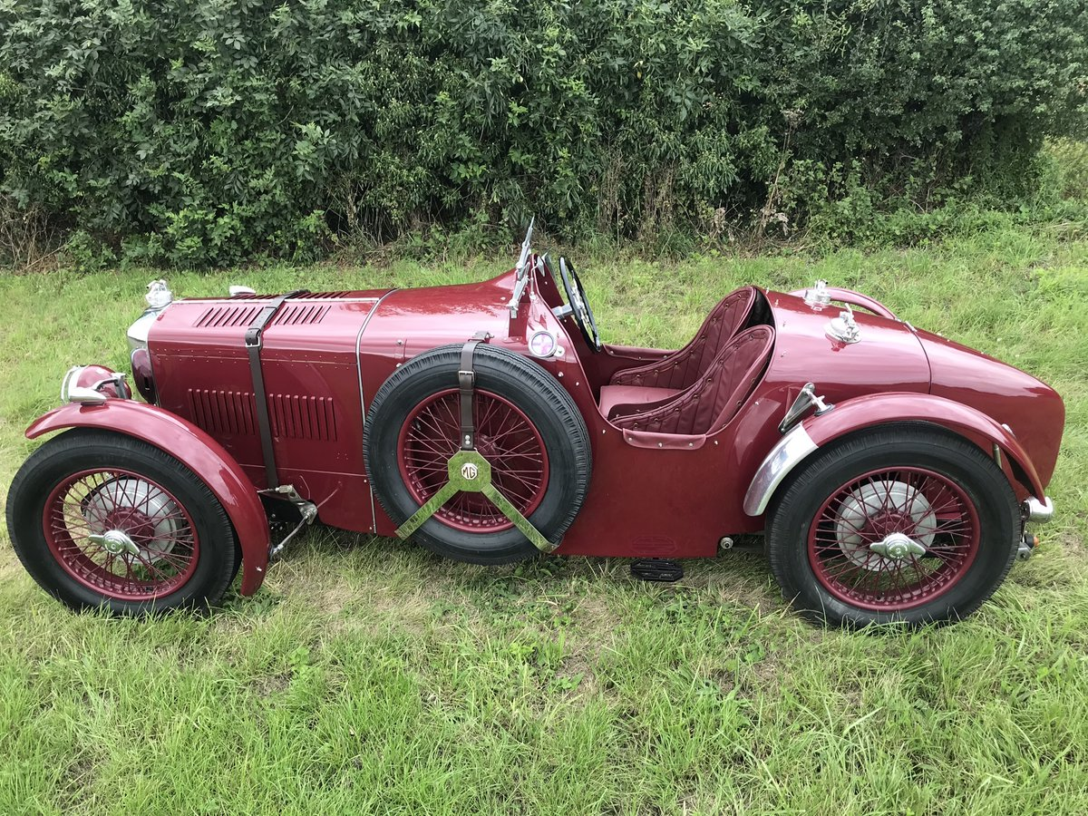 1937 MG TA Q-Type For Sale (picture 1 of 6)