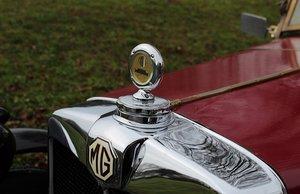 Vintage MG sports car M-type