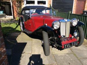 1937 A stunning MGTA