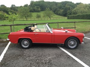 1972 MG Midget, Heritage Shell For Sale