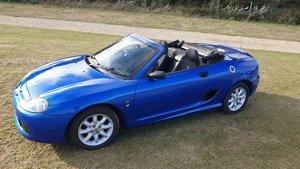 2003 Trophy Blue MGTF 1.6
