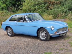 Picture of MG B GT, 1969, Iris Blue For Sale