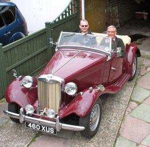 1953 MGTD/2 RHD UK CAR WITH MATCHING NUMBERS