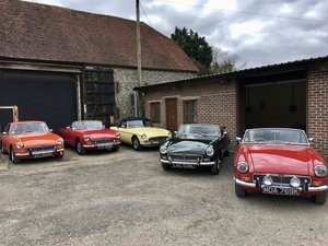 IN STOCK NOW 8 BEAUTIFUL RESTORED MGB,s &MGBGTs