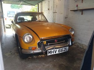1972 MG B Auto for auction 29th/30th October For Sale by Auction