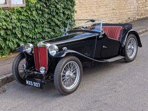 1939 MG TB for Sale - Correct Engine. Very Original.