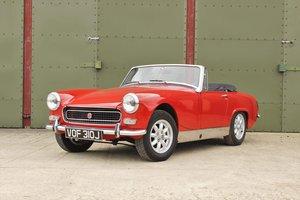 1971 MG Midget Heritage shell restoration. SALE PENDING  For Sale