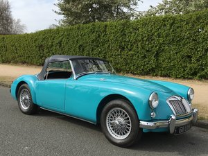 1957 MGA ROADSTER SUPERB RESTORATION