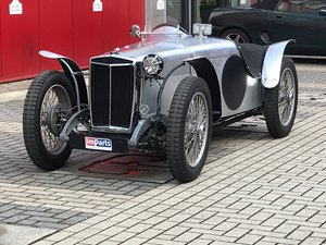 1934 MG PA Racer by Don Moore