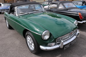 Picture of 1974 MGB Roadster in BRG to show standard For Sale