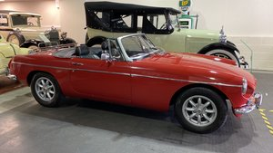 MGB ROADSTER-1970-Red- w/overdrive  For Sale