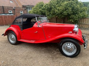 *REMAINS AVAILABLE - AUGUST AUCTION* 1950 MG TD For Sale by Auction