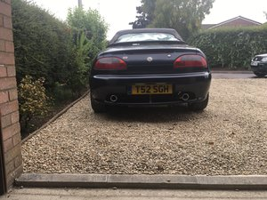 MGF Rare modern British  classic at 5K