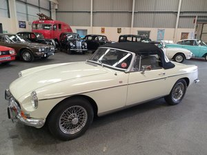 **OCTOBER ENTRY** 1972 MG B Roadster
