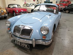 **OCTOBER ENTRY** 1961 MGA FHC