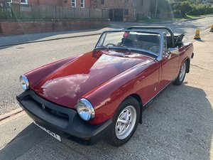 **OCTOBER ENTRY** 1978 MG Midget For Sale by Auction