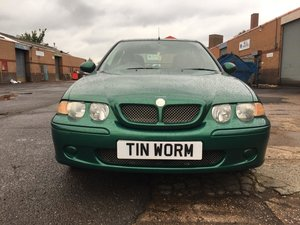 2003 MG ZS 1.8 petrol hatchback with manual gearbox SOLD