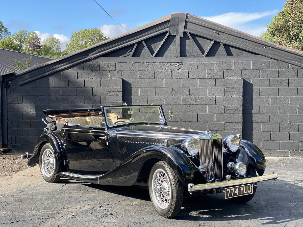 1938 MG SA Tickford Drop Head Coupe For Sale (picture 1 of 20)