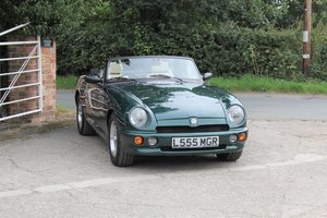 1993 MG RV8, British Racing Green, 15500 miles, UK car