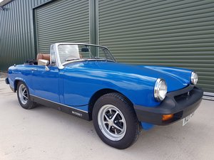 1975 1976 MG Midget 1500 Tahiti Blue tuned engine