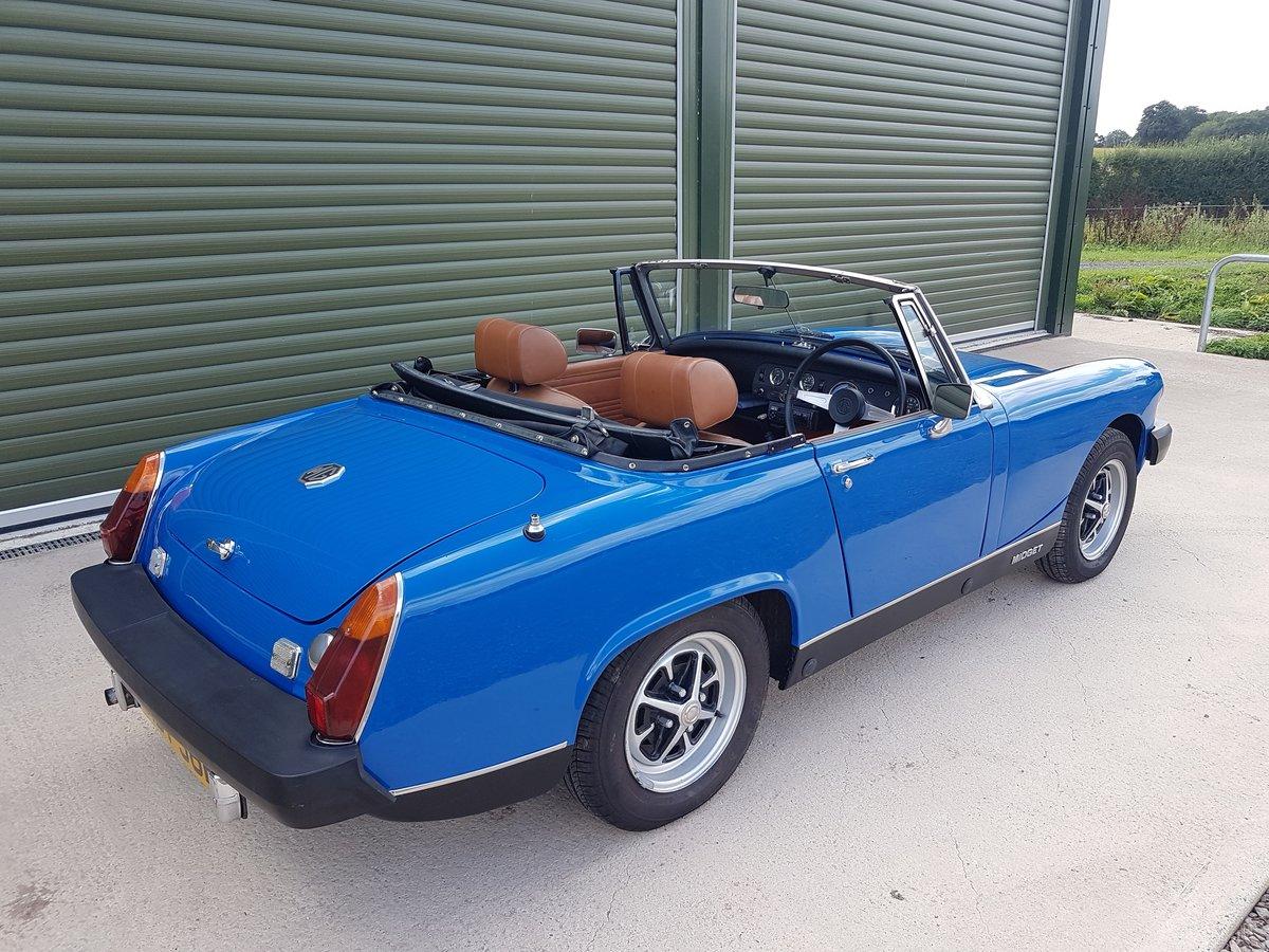1975 1976 MG Midget 1500 Tahiti Blue tuned engine SOLD (picture 3 of 6)