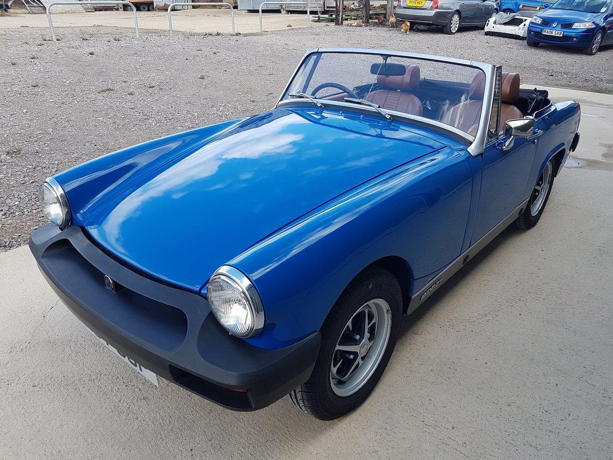 1975 1976 MG Midget 1500 Tahiti Blue tuned engine SOLD (picture 4 of 6)