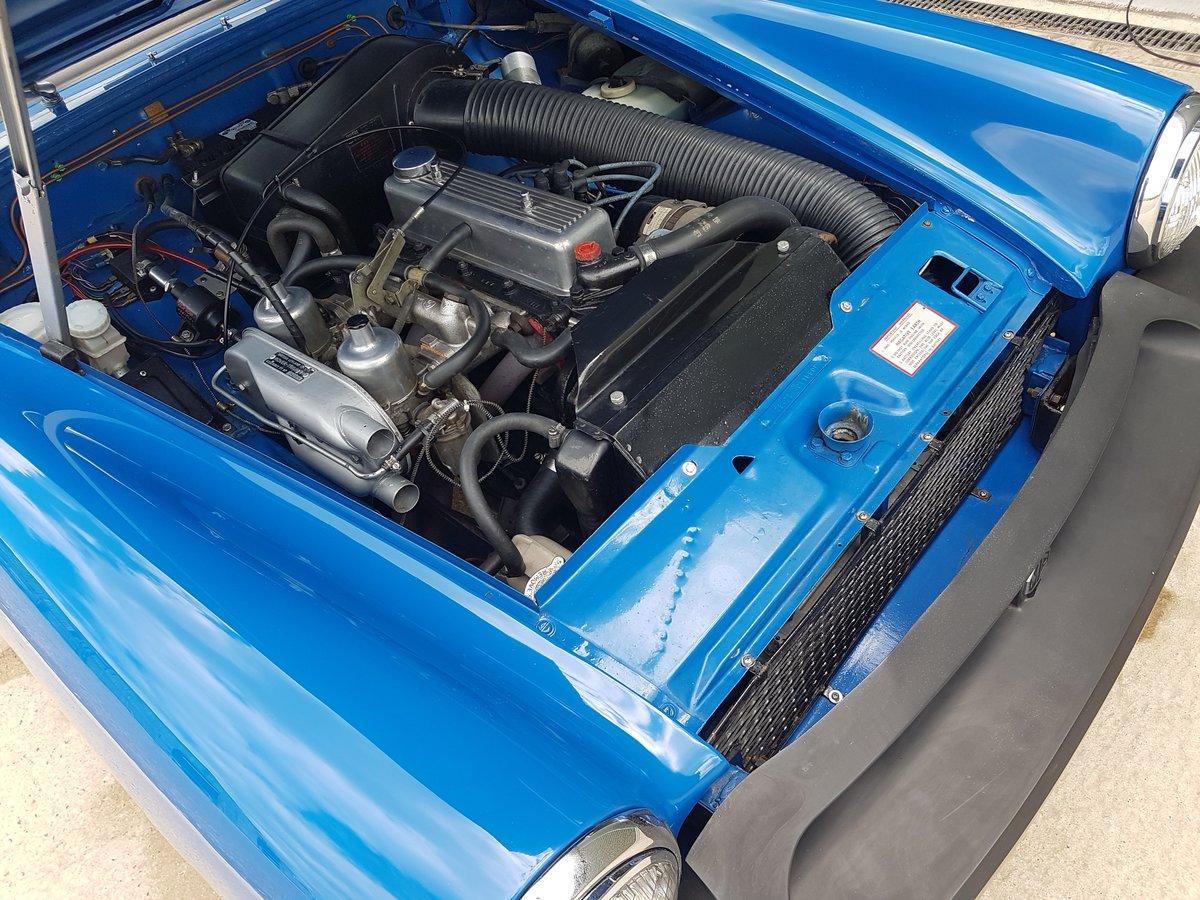 1975 1976 MG Midget 1500 Tahiti Blue tuned engine SOLD (picture 6 of 6)