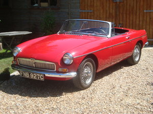 Picture of MGB Roadster 1965 LHD O/DTartan Red For Sale
