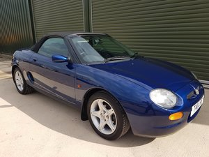 1999 MG MGF VVC extremely low mileage For Sale