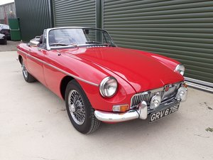 1967 MGB Roadster in excellent condition For Sale