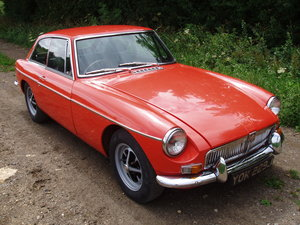 Picture of 1971 MG BGT Chrome bumper, up-rated engine For Sale