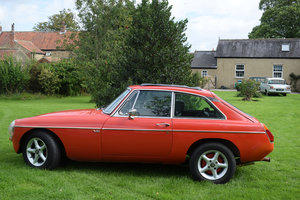 1975 MGB GT V8 - FACTORY BUILT V8 WITH ALL THE WOW FACTOR! For Sale