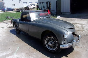 1956 thru 1962 MGA Coupes and Roadsters (17)