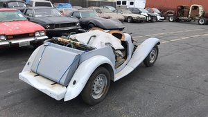 1952 MG TD for restoration,  amazing body, xpag engine