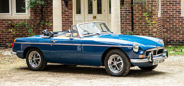 'The Nell Collection' 1973 MG B Roadster Conversion For Sale by Auction